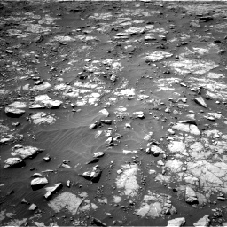 Nasa's Mars rover Curiosity acquired this image using its Left Navigation Camera on Sol 1435, at drive 300, site number 57