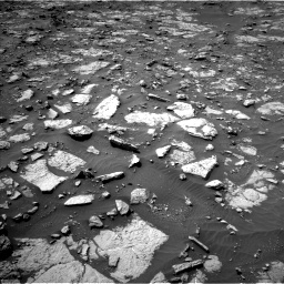 Nasa's Mars rover Curiosity acquired this image using its Left Navigation Camera on Sol 1435, at drive 324, site number 57