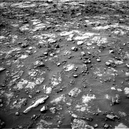 Nasa's Mars rover Curiosity acquired this image using its Left Navigation Camera on Sol 1435, at drive 384, site number 57