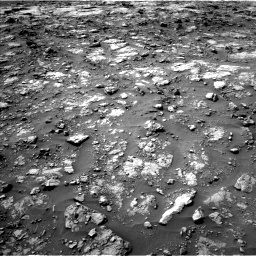 Nasa's Mars rover Curiosity acquired this image using its Left Navigation Camera on Sol 1435, at drive 390, site number 57