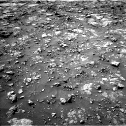 Nasa's Mars rover Curiosity acquired this image using its Left Navigation Camera on Sol 1435, at drive 402, site number 57