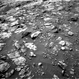 Nasa's Mars rover Curiosity acquired this image using its Left Navigation Camera on Sol 1435, at drive 426, site number 57