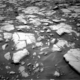 Nasa's Mars rover Curiosity acquired this image using its Right Navigation Camera on Sol 1435, at drive 24, site number 57