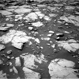 Nasa's Mars rover Curiosity acquired this image using its Right Navigation Camera on Sol 1435, at drive 54, site number 57