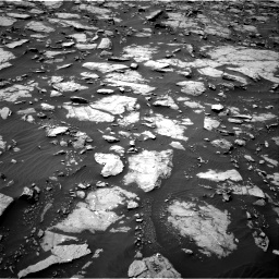 Nasa's Mars rover Curiosity acquired this image using its Right Navigation Camera on Sol 1435, at drive 114, site number 57
