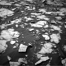 Nasa's Mars rover Curiosity acquired this image using its Right Navigation Camera on Sol 1435, at drive 120, site number 57