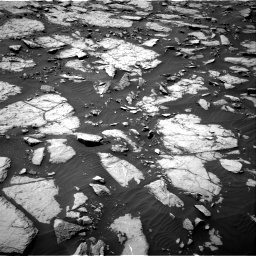 Nasa's Mars rover Curiosity acquired this image using its Right Navigation Camera on Sol 1435, at drive 132, site number 57
