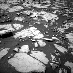 Nasa's Mars rover Curiosity acquired this image using its Right Navigation Camera on Sol 1435, at drive 138, site number 57