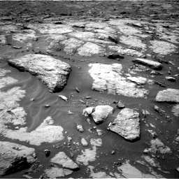 Nasa's Mars rover Curiosity acquired this image using its Right Navigation Camera on Sol 1435, at drive 162, site number 57