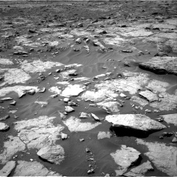 Nasa's Mars rover Curiosity acquired this image using its Right Navigation Camera on Sol 1435, at drive 180, site number 57