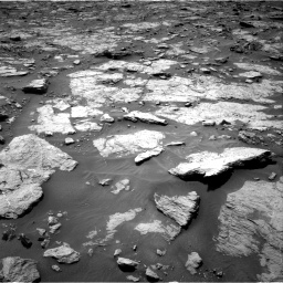 Nasa's Mars rover Curiosity acquired this image using its Right Navigation Camera on Sol 1435, at drive 210, site number 57