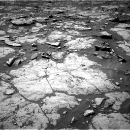 Nasa's Mars rover Curiosity acquired this image using its Right Navigation Camera on Sol 1435, at drive 228, site number 57