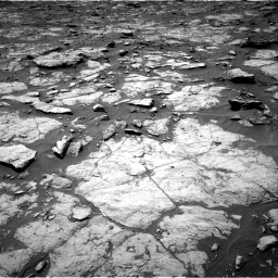 Nasa's Mars rover Curiosity acquired this image using its Right Navigation Camera on Sol 1435, at drive 234, site number 57