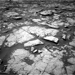 Nasa's Mars rover Curiosity acquired this image using its Right Navigation Camera on Sol 1435, at drive 246, site number 57