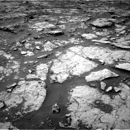 Nasa's Mars rover Curiosity acquired this image using its Right Navigation Camera on Sol 1435, at drive 252, site number 57