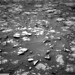 Nasa's Mars rover Curiosity acquired this image using its Right Navigation Camera on Sol 1435, at drive 306, site number 57