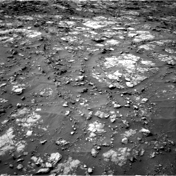Nasa's Mars rover Curiosity acquired this image using its Right Navigation Camera on Sol 1435, at drive 360, site number 57