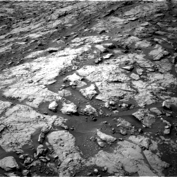 Nasa's Mars rover Curiosity acquired this image using its Right Navigation Camera on Sol 1435, at drive 450, site number 57