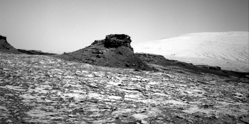 NASA's Mars rover Curiosity acquired this image using its Right Navigation Cameras (Navcams) on Sol 1435
