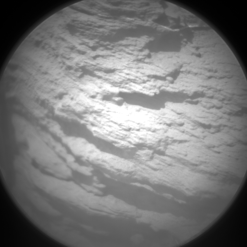 Nasa's Mars rover Curiosity acquired this image using its Chemistry & Camera (ChemCam) on Sol 1436, at drive 462, site number 57