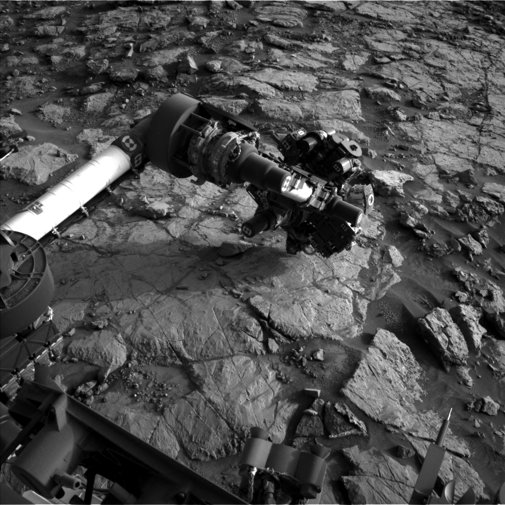 Nasa's Mars rover Curiosity acquired this image using its Left Navigation Camera on Sol 1436, at drive 462, site number 57