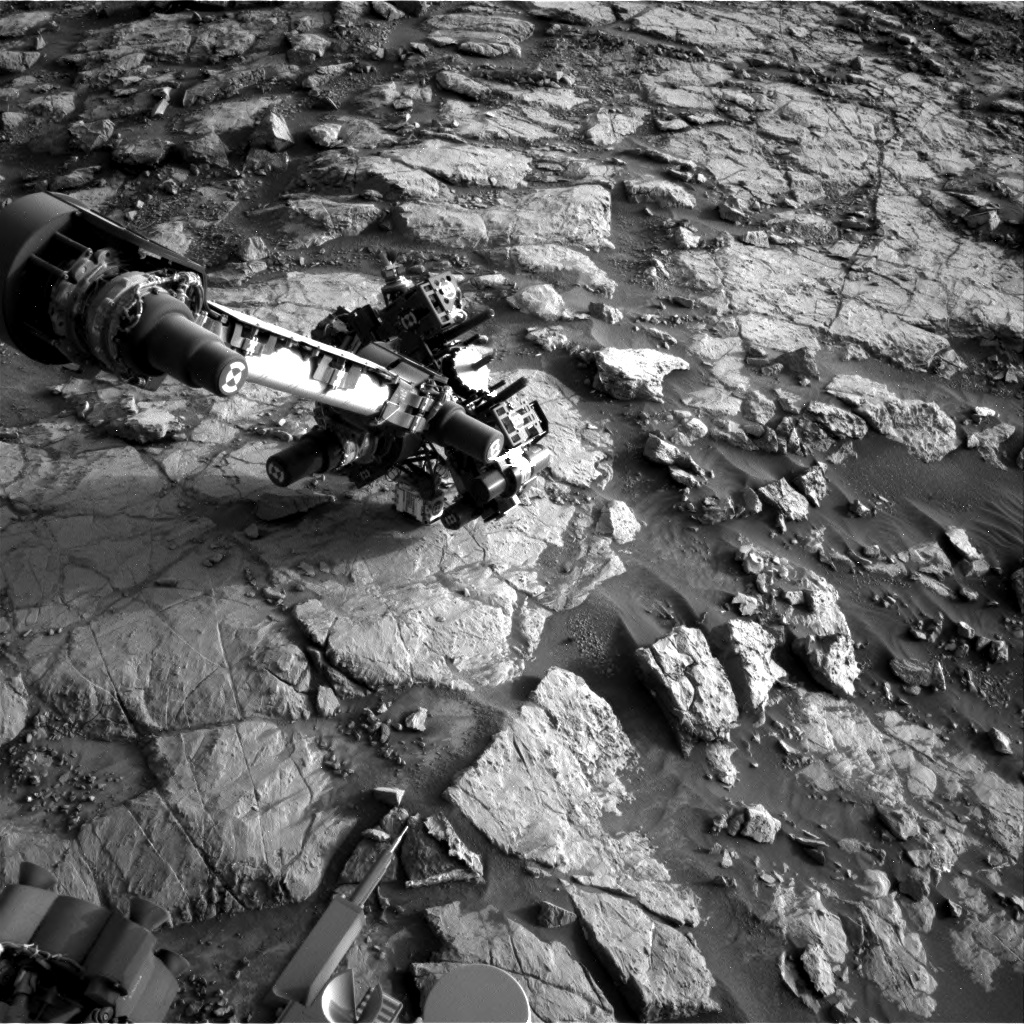 Nasa's Mars rover Curiosity acquired this image using its Right Navigation Camera on Sol 1436, at drive 462, site number 57