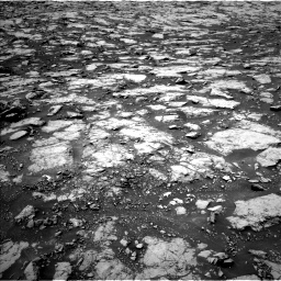 Nasa's Mars rover Curiosity acquired this image using its Left Navigation Camera on Sol 1438, at drive 498, site number 57