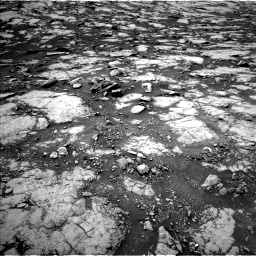 Nasa's Mars rover Curiosity acquired this image using its Left Navigation Camera on Sol 1438, at drive 510, site number 57
