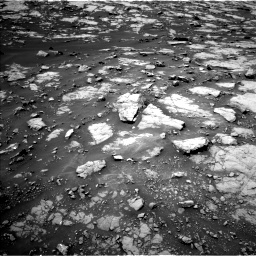 Nasa's Mars rover Curiosity acquired this image using its Left Navigation Camera on Sol 1438, at drive 534, site number 57
