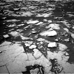 Nasa's Mars rover Curiosity acquired this image using its Left Navigation Camera on Sol 1438, at drive 600, site number 57