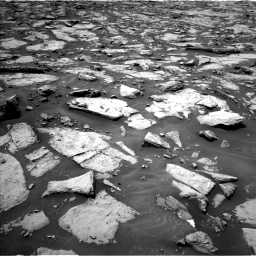 Nasa's Mars rover Curiosity acquired this image using its Left Navigation Camera on Sol 1438, at drive 708, site number 57
