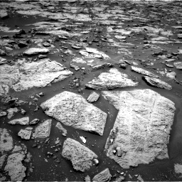 Nasa's Mars rover Curiosity acquired this image using its Left Navigation Camera on Sol 1438, at drive 738, site number 57