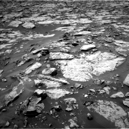 Nasa's Mars rover Curiosity acquired this image using its Left Navigation Camera on Sol 1438, at drive 750, site number 57