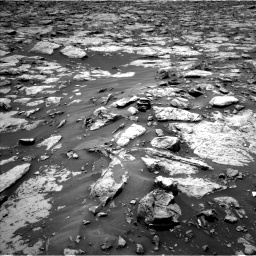 Nasa's Mars rover Curiosity acquired this image using its Left Navigation Camera on Sol 1438, at drive 756, site number 57