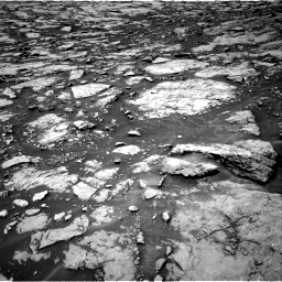 Nasa's Mars rover Curiosity acquired this image using its Right Navigation Camera on Sol 1438, at drive 474, site number 57