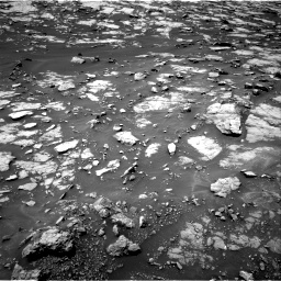 Nasa's Mars rover Curiosity acquired this image using its Right Navigation Camera on Sol 1438, at drive 546, site number 57