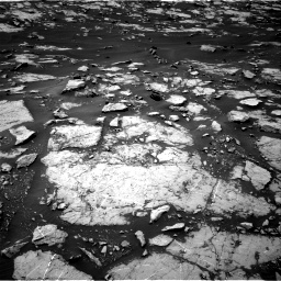 Nasa's Mars rover Curiosity acquired this image using its Right Navigation Camera on Sol 1438, at drive 570, site number 57