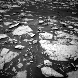 Nasa's Mars rover Curiosity acquired this image using its Right Navigation Camera on Sol 1438, at drive 576, site number 57