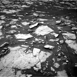 Nasa's Mars rover Curiosity acquired this image using its Right Navigation Camera on Sol 1438, at drive 582, site number 57