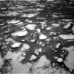 Nasa's Mars rover Curiosity acquired this image using its Right Navigation Camera on Sol 1438, at drive 594, site number 57