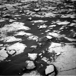 NASA's Mars rover Curiosity acquired this image using its Right Navigation Cameras (Navcams) on Sol 1438
