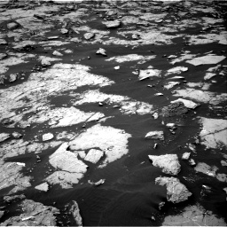 Nasa's Mars rover Curiosity acquired this image using its Right Navigation Camera on Sol 1438, at drive 636, site number 57