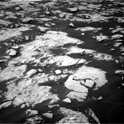 Nasa's Mars rover Curiosity acquired this image using its Right Navigation Camera on Sol 1438, at drive 642, site number 57