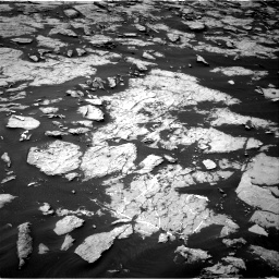 Nasa's Mars rover Curiosity acquired this image using its Right Navigation Camera on Sol 1438, at drive 648, site number 57