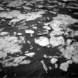 Nasa's Mars rover Curiosity acquired this image using its Right Navigation Camera on Sol 1438, at drive 654, site number 57