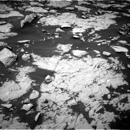 Nasa's Mars rover Curiosity acquired this image using its Right Navigation Camera on Sol 1438, at drive 666, site number 57
