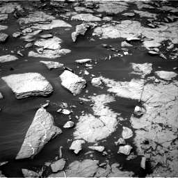 Nasa's Mars rover Curiosity acquired this image using its Right Navigation Camera on Sol 1438, at drive 672, site number 57