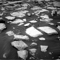 Nasa's Mars rover Curiosity acquired this image using its Right Navigation Camera on Sol 1438, at drive 684, site number 57