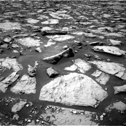 Nasa's Mars rover Curiosity acquired this image using its Right Navigation Camera on Sol 1438, at drive 720, site number 57