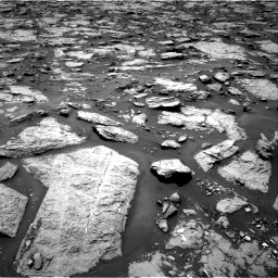 Nasa's Mars rover Curiosity acquired this image using its Right Navigation Camera on Sol 1438, at drive 732, site number 57